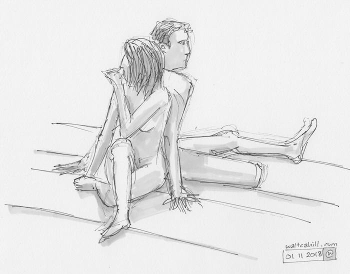Covent Garden Life Drawing #215