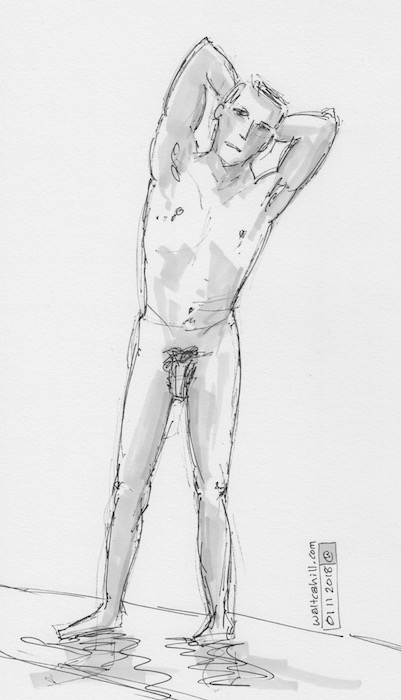Covent Garden Life Drawing #214