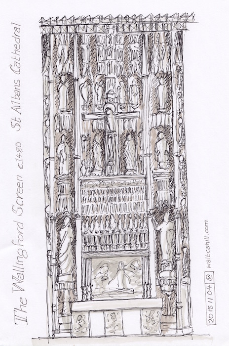 The Wallingford Screen, St Albans Cathedral