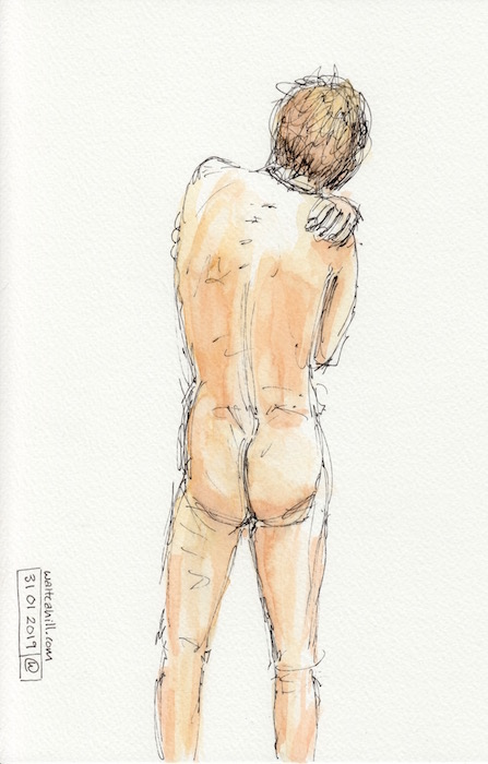 Covent Garden Life Drawing #219