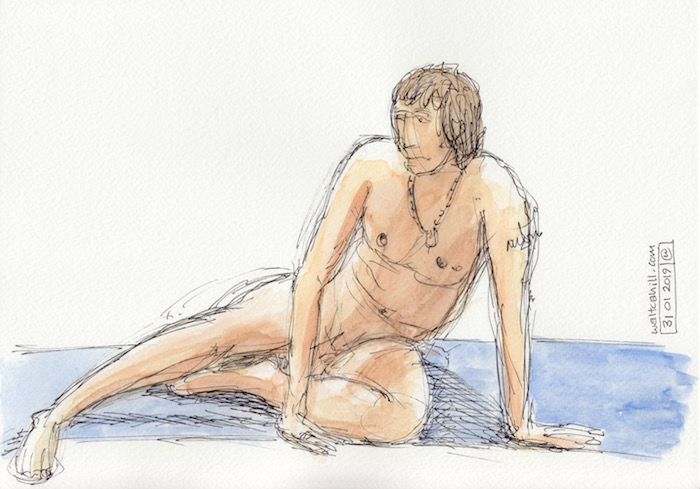 Covent Garden Life Drawing #220