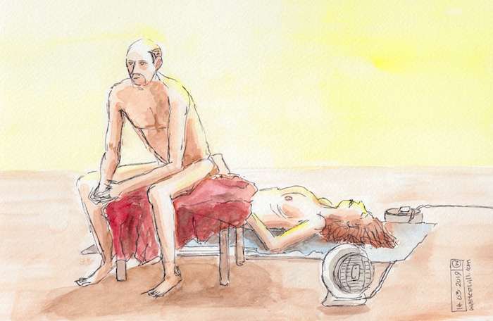 Covent Garden Life Drawing #232
