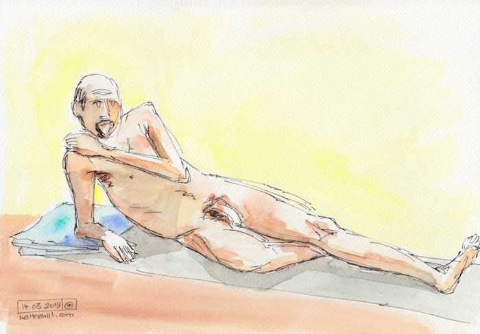 Covent Garden Life Drawing #239