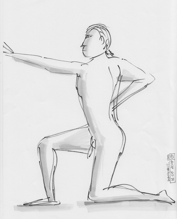 Covent Garden Life Drawing #241