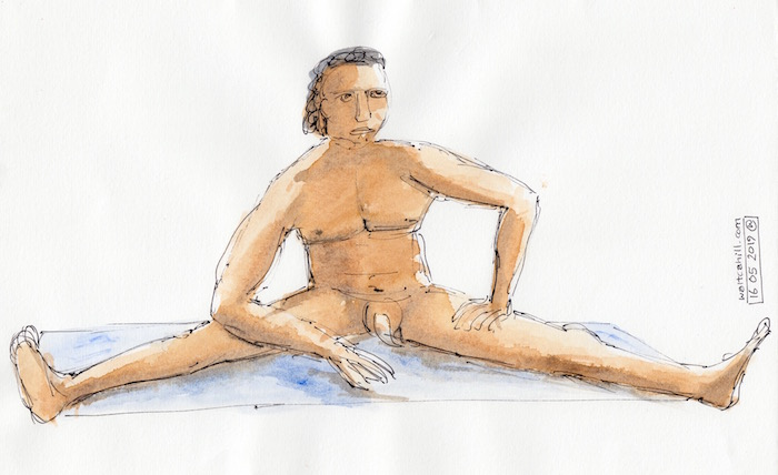 Covent Garden Life Drawing #245