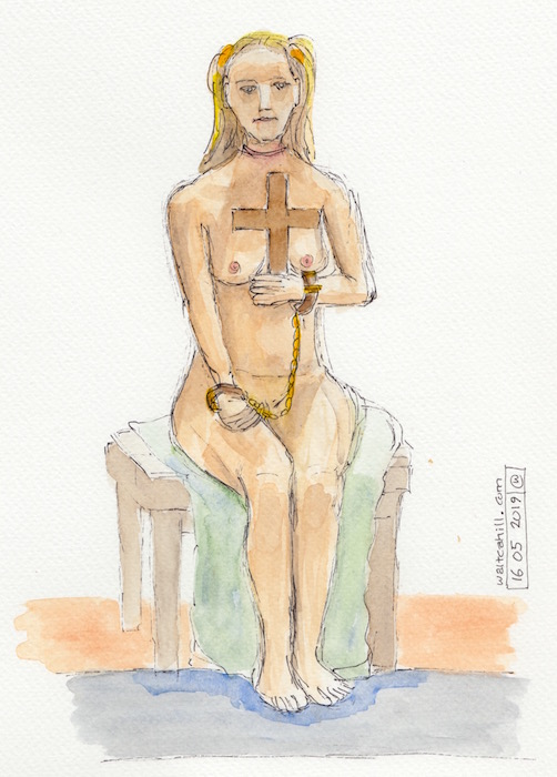 Covent Garden Life Drawing #246