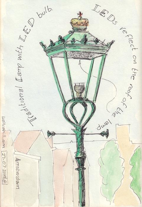 Amsterdam Street Lamps