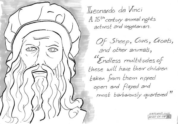 Leonardo da Vinci: Vegetarian