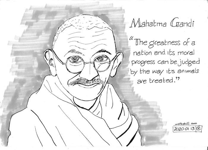 Mahatma Gandhi: Vegetarian